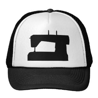 sewing machine silhouette hats