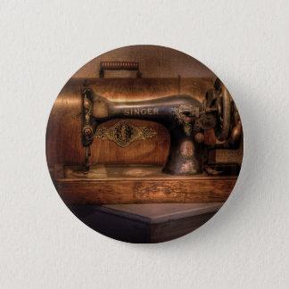 Sewing Machine  - Singer Pinback Button