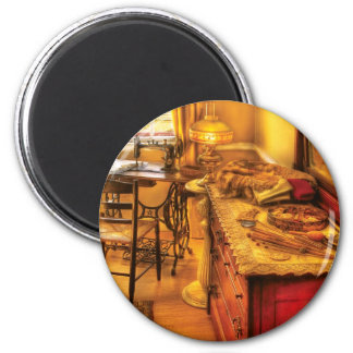 Sewing Machine  - The Sewing Room Refrigerator Magnet