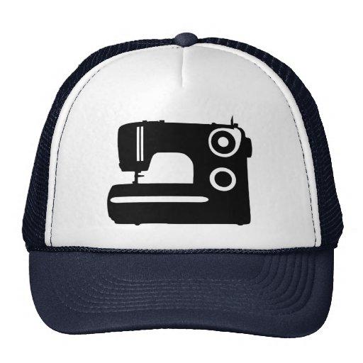 Sewing machine trucker hat