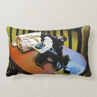 Sewing Machine with Cloth Pillows