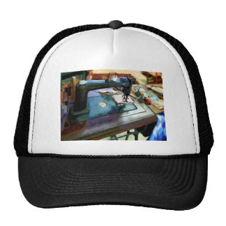 Sewing Machine With Sissors Mesh Hat