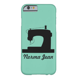 Sewing Machine / Your Text Barely There iPhone 6 Case
