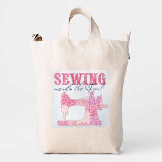 Sewing Mends the Soul Duck Bag