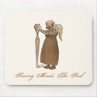 Sewing Mends The Soul Mouse Pad