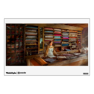 Sewing - Minding the mending store Wall Decal