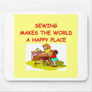 sewing mouse pad