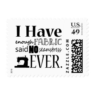 Sewing Not Enough Fabric Crafts Postage