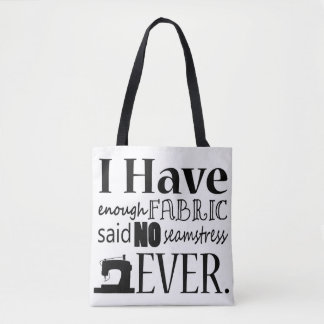 Sewing • Not Enough Fabric Crafts Tote Bag