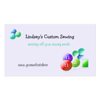 Sewing Notions Business Cards