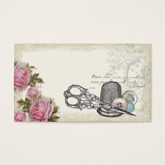 Sewing Notions IVORY Business Card