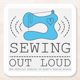 Sewing Out Loud Coaster