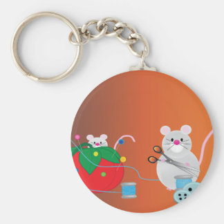 Sewing Party Keychain