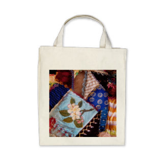 Sewing - Patchwork - Grandma s quilt Canvas Bags