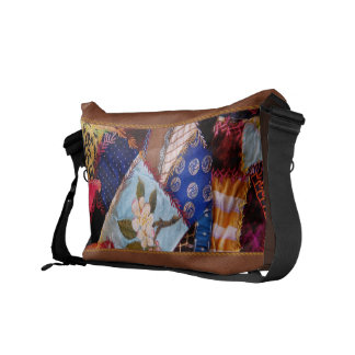 Sewing - Patchwork - Grandma s quilt Courier Bags