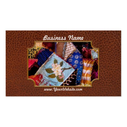 Sewing - Patchwork - Grandma's quilt Business Card