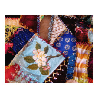 Sewing - Patchwork - Grandma's quilt Full Color Flyer