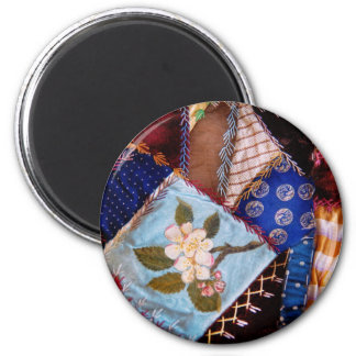 Sewing - Patchwork - Grandma's quilt Magnets