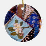 Sewing - Patchwork - Grandma's quilt Ornament