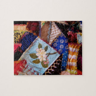 Sewing - Patchwork - Grandma's quilt Puzzle