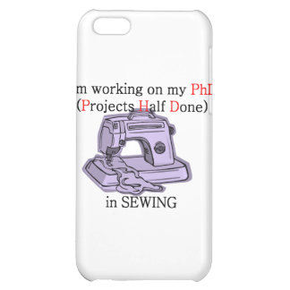 Sewing PhD iPhone 5C Cover