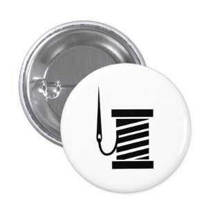 Sewing Pictogram Button