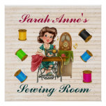 Sewing Poster - SRF