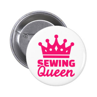 Sewing queen button