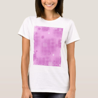 Sewing Quilting Background Template T-Shirt