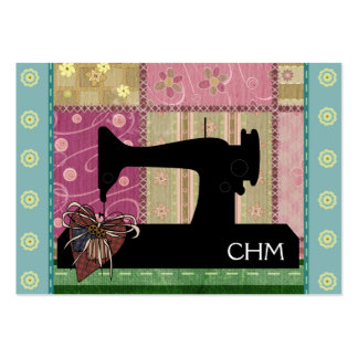 Sewing Quilting Card - SRF Business Card Templates