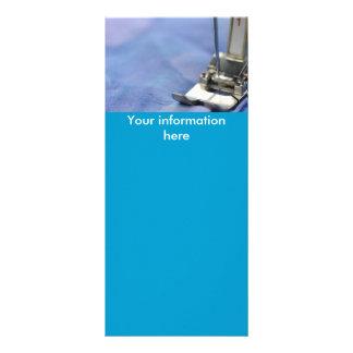 sewing rack card design