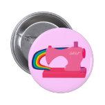 Sewing Rainbows 2 Inch Round Button