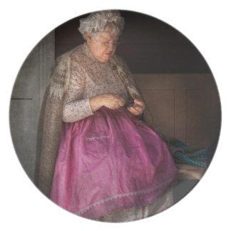 Sewing - Ribbon - Granny's hobby Plate