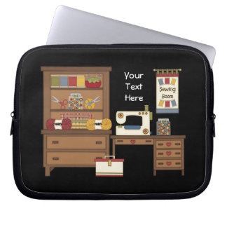 Sewing Room 1 customizable Laptop Computer Sleeve