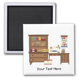 Sewing Room 1 (Personalized) Magnet