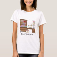 Sewing Room 2 (personalized) T-Shirt