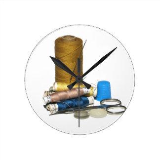 Sewing Round Clock