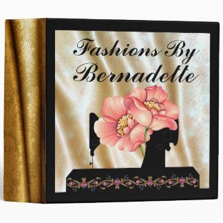Sewing - Seamstress - Fashion - SRF 3 Ring Binder