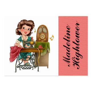 Sewing / Seamstress / Fashion - SRF Business Card