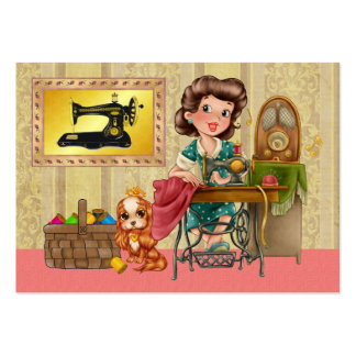 Sewing / Seamstress / Fashion - SRF Large Business Card