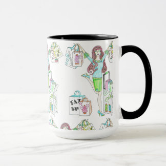 Sewing Shopper Coffee cup