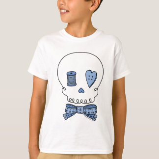 Sewing Skull (Blue) T-Shirt