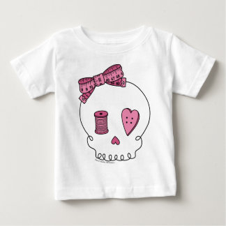 Sewing Skull (Pink) Infant T-shirt
