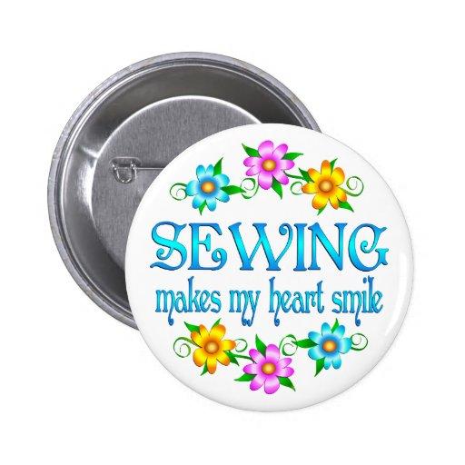Sewing Smiles Pin