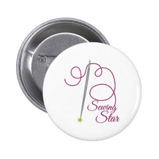 Sewing Star Pin