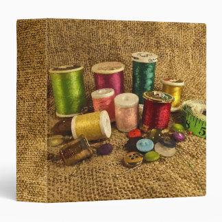Sewing Supplies Binder