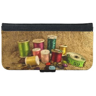 Sewing Supplies iPhone 6 Wallet Case