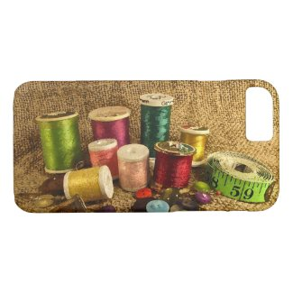 Sewing Supplies iPhone 7 Case