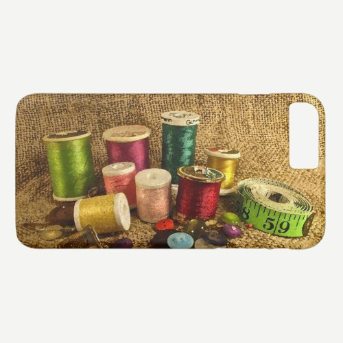Sewing Supplies iPhone 8/7 Plus Case