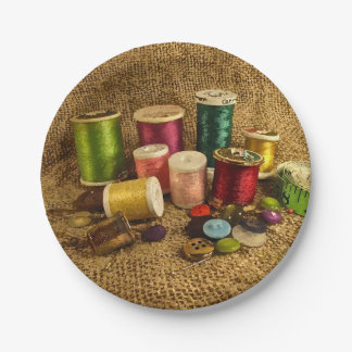 Sewing Supplies Paper Plates 7 Inch Paper Plate
